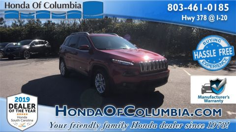 Pre-Owned 2017 Jeep Cherokee Latitude 4D Sport Utility